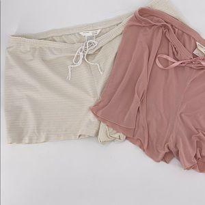 Sleep shorts 2/$15 XXL Gilligan & O'Malley